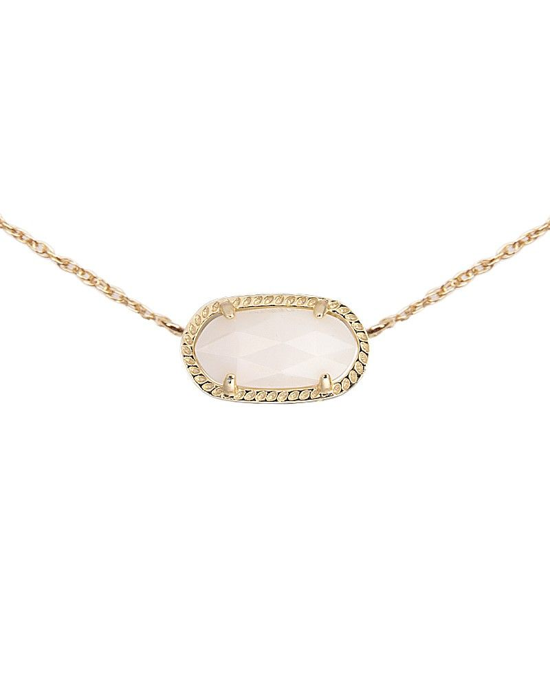 Elisa Pendant Necklace In White Pearl Kendra Scott