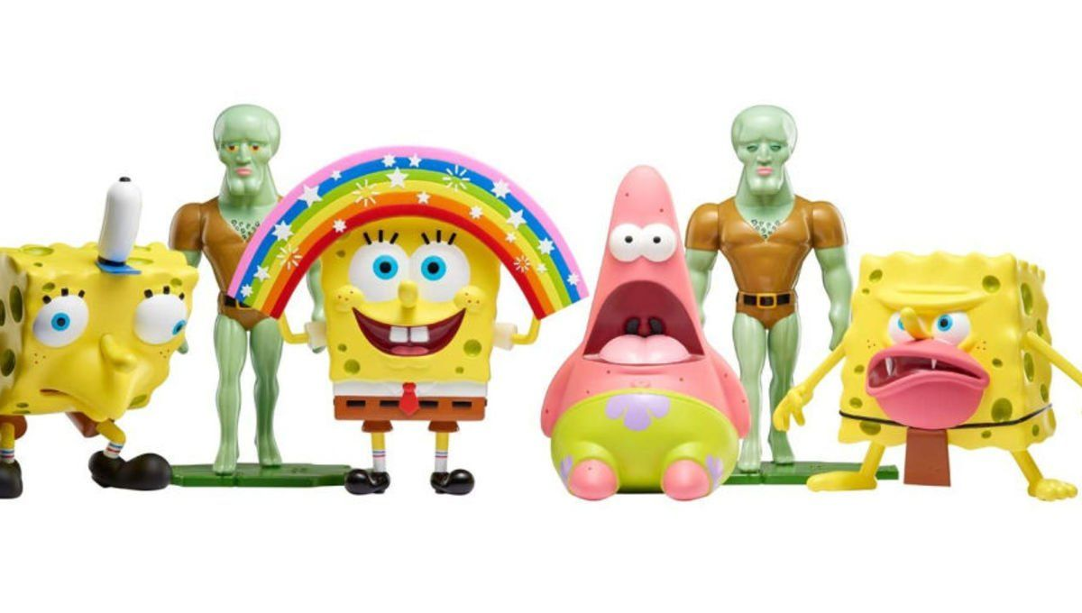 Important Toy News SpongeBob SquarePants meme toys break
