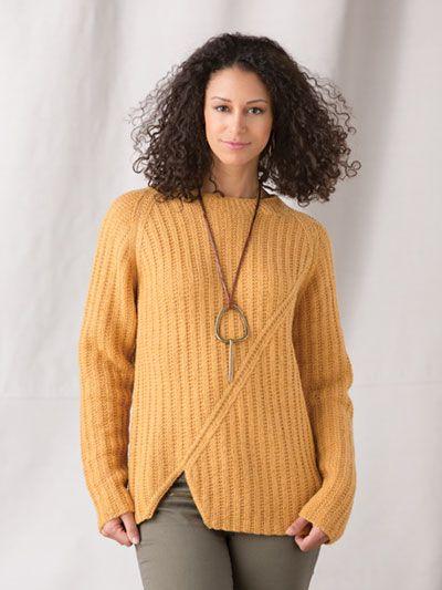 Beechwood Pullover Knit Pattern   Knitting patterns ...