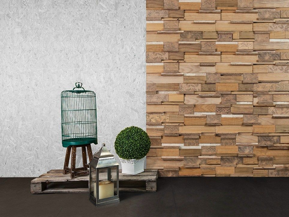 3D Wall Cladding for interior PAIOL RENDA Campagna Collection by Mosarte