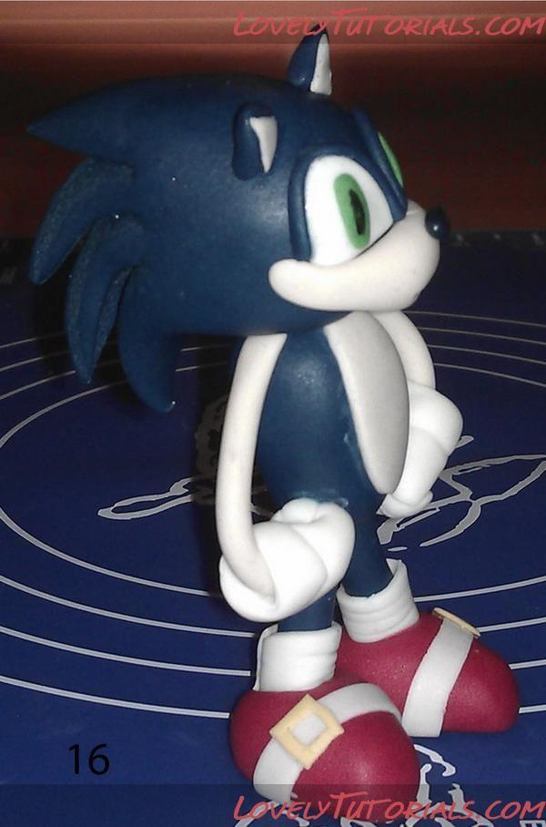 Sonic The Hedgehog Cake Topper Tutorial Sonic Cake