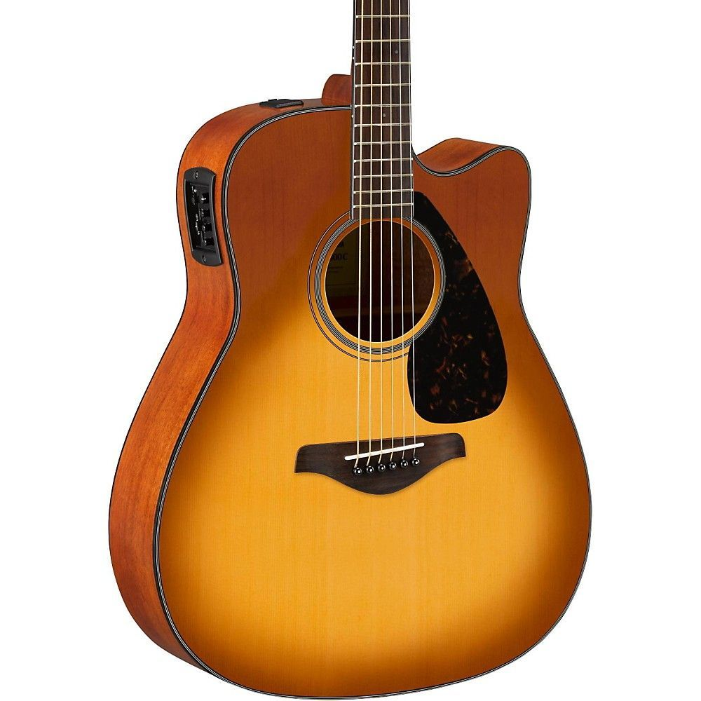 Yamaha Fg Series Fgx800c Acoustic Electric Guitar Sand Burst Acoustic Electric Guitar Acoustic Electric Yamaha Guitar