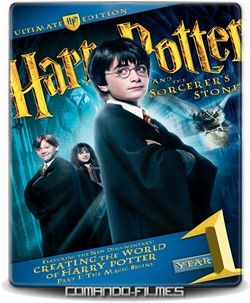Harry Potter e a Pedra Filosofal – AV-FA (2001)  2h 40 Min Título Original: Harry Potter And The Sorcerer´s Stone Gênero: Aventura | Fantasia Ano de Lançamento: 2001 Duração: 2h 40 Min. IMDb: 7.5 Assisti - MN 9/10 (No Pin it)