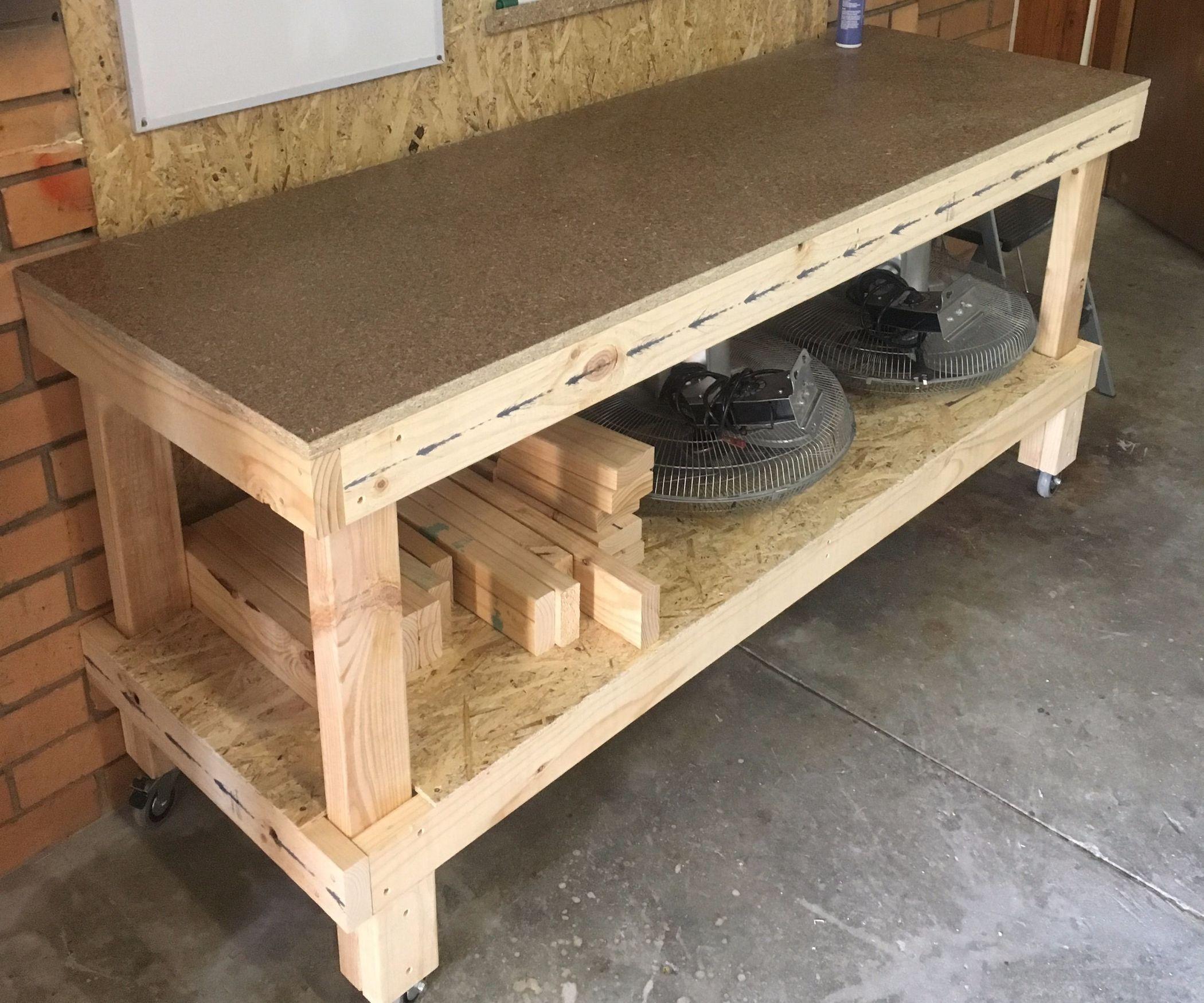 Simple Workbench Workbench, Workbench on wheels