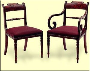Chairs Regency Furniture Style