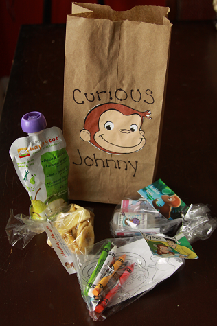 curious george party curious george birthday goodie bags 4th birthday birthday parties birthday ideas monkey birthdays george - Curious George Coloring Book In Bulk