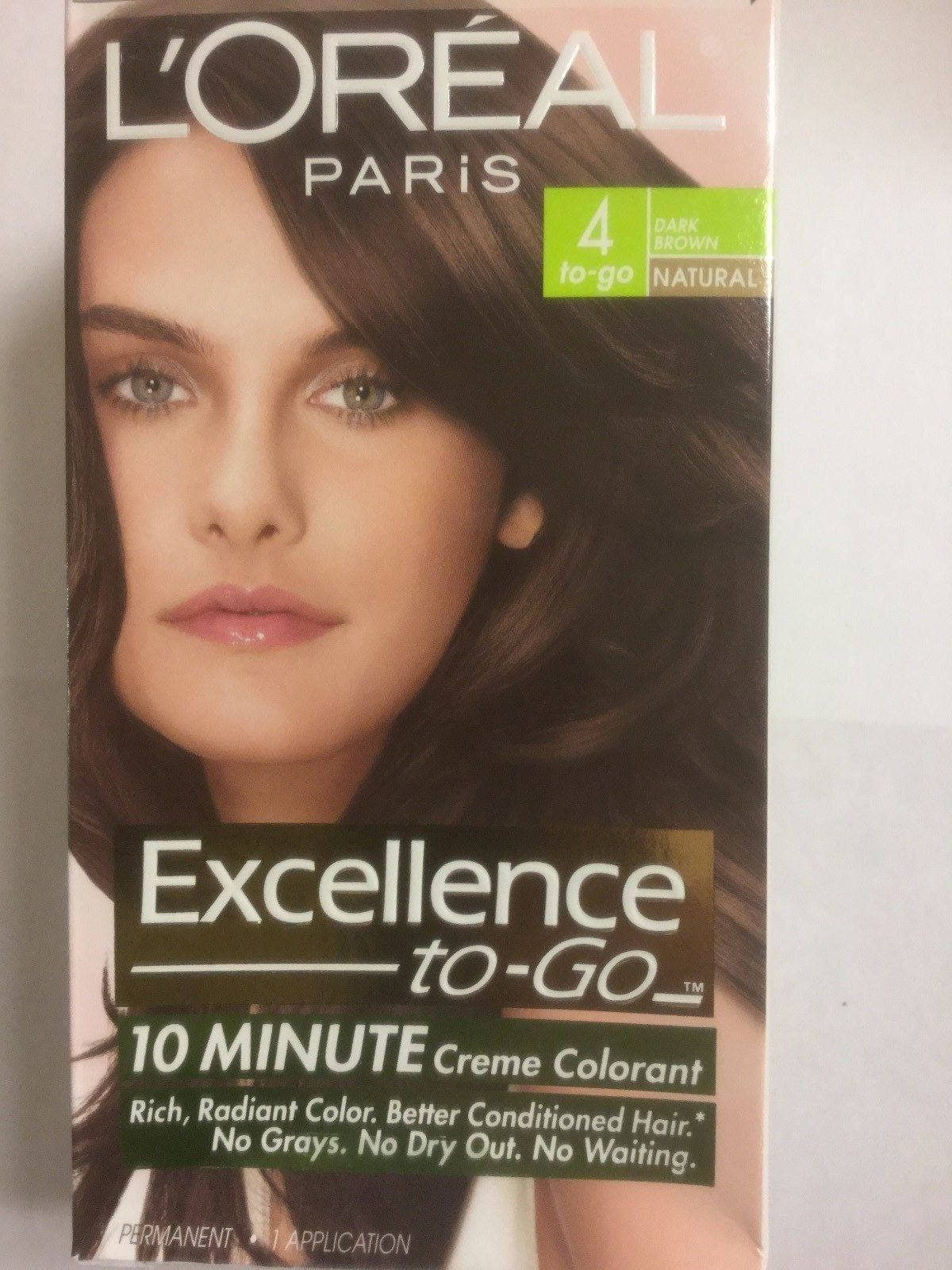 Loreal Paris Excellence To Go 10 Minute Crme Coloring Dark Brown