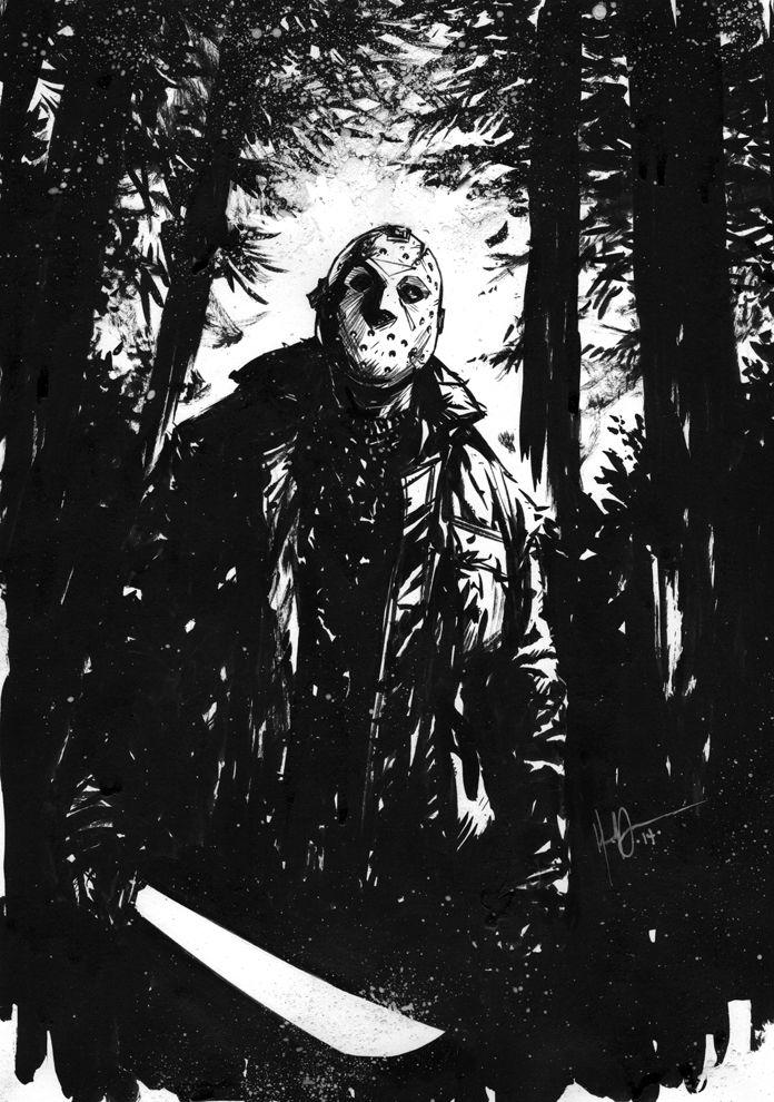 Jason Voorhees // artworkby HenrikJonsson(2015)