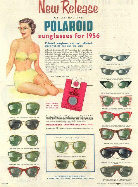 Polaroid promotional poster (1956), courtesy Polaroid