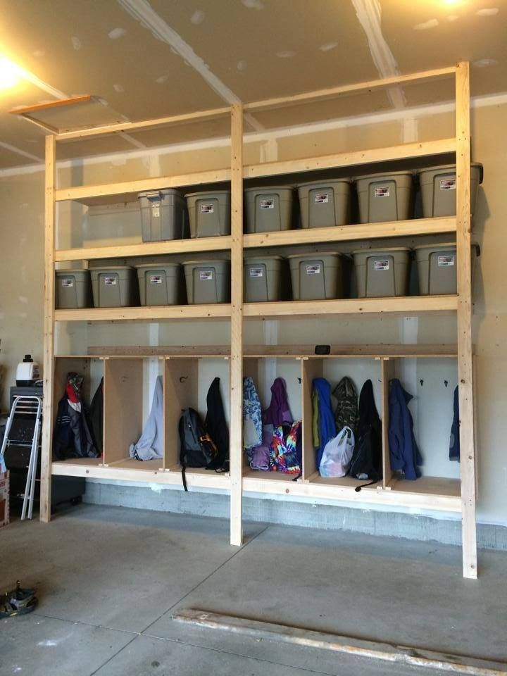 Garage Storage And Mudroom For If There S No Room In The House