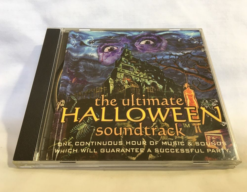 The Ultimate Halloween Party Soundtrack Hi Tech Sound Effects Music CD