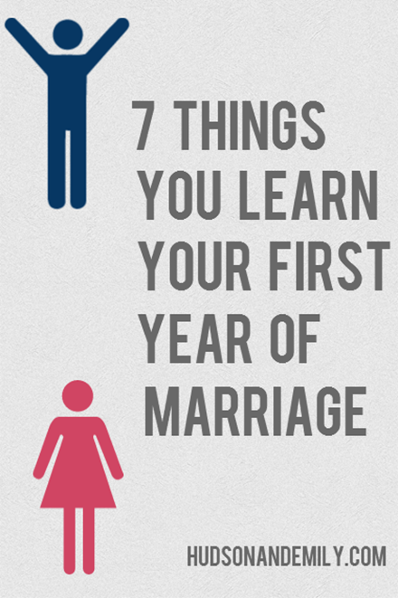7 Things You Learn Your First Year Of Marriage Relationships