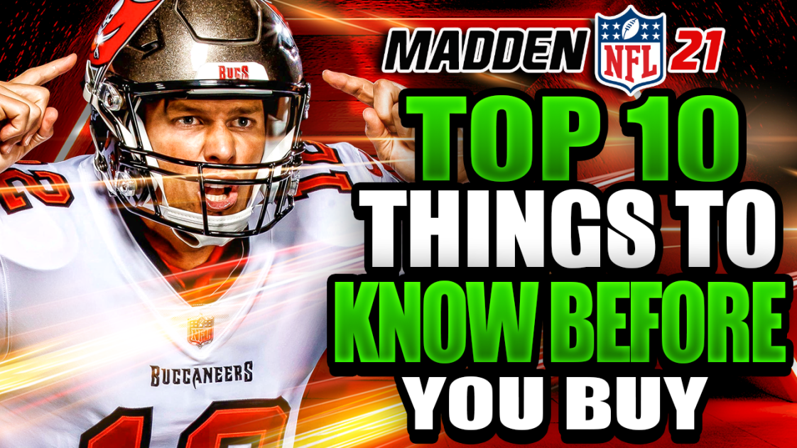Madden 21 Top 10 Things To Know Before You Buy Sports Gamers Online Madden Football Playoffs Things To Know