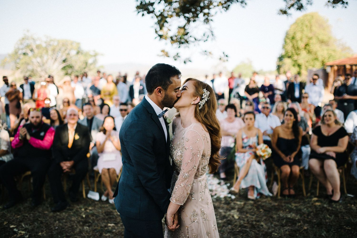 Rustic country wedding with all of the romantic and vintage vibes