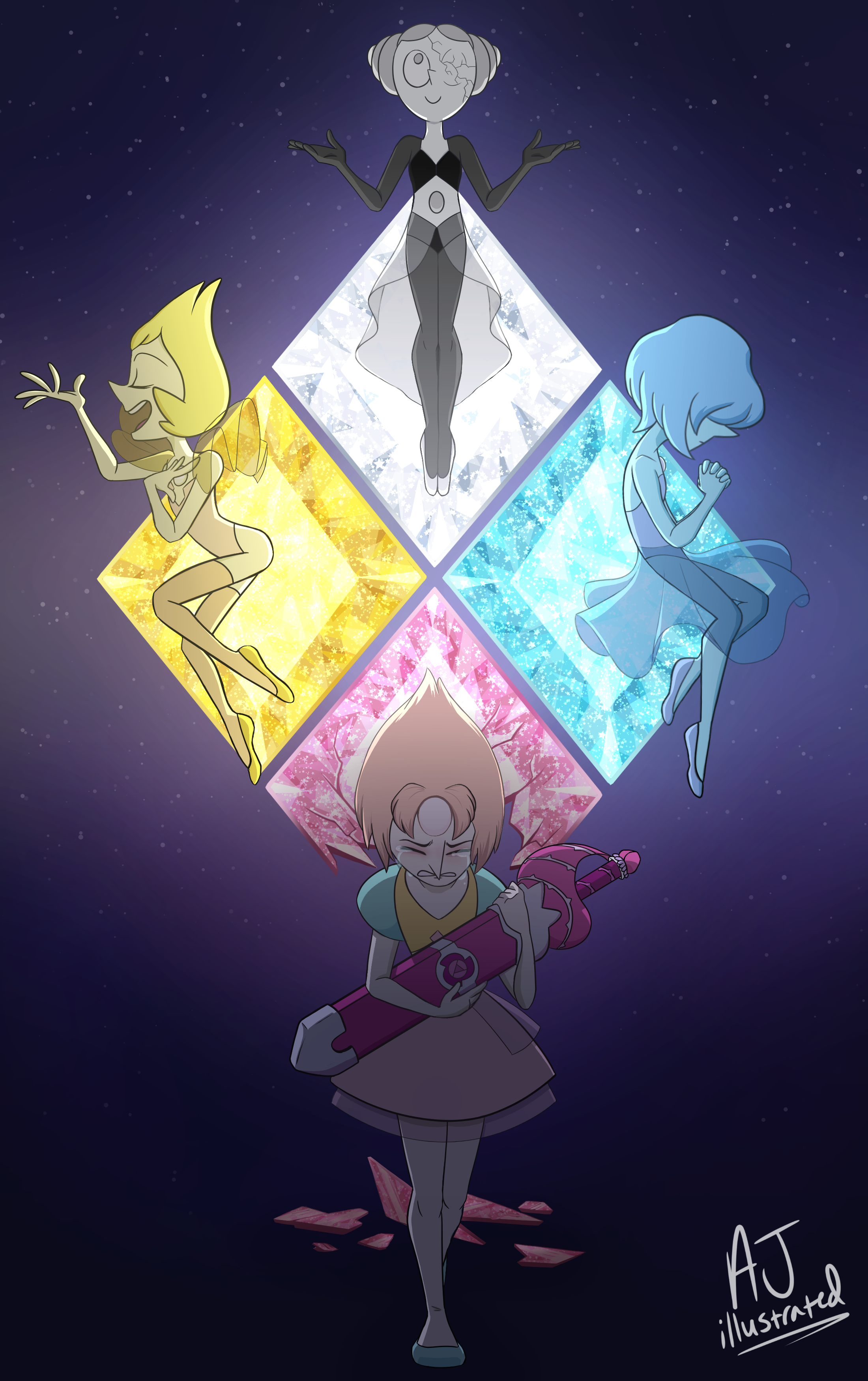 Why Don T You Get A Real Job Steven Universe Fanart Steven Universe Anime Steven Universe Diamond