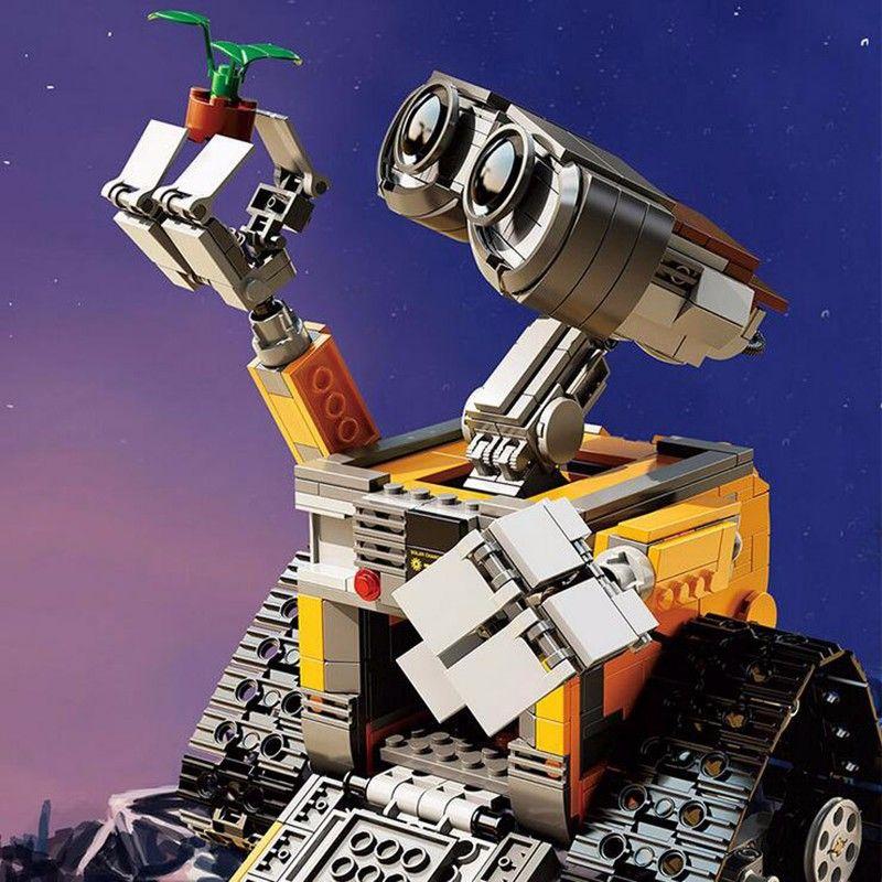 Lepin 16003 Building block Assemblare Set regalo carino lele 39023 WALL E Kit Blocchi Singola Vendita Giocattoli Dei Mattoni compatiable con 21303