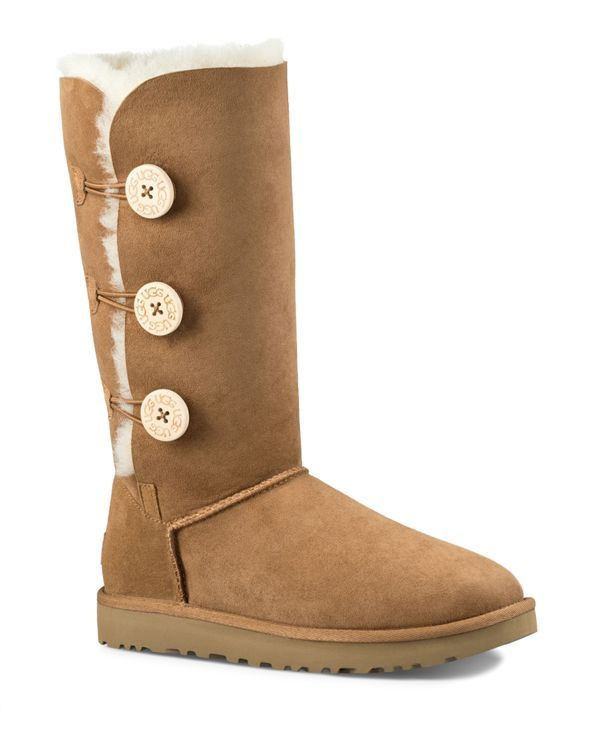 ugg bailey button triplet sheepskin mid calf boots boots rh in pinterest com