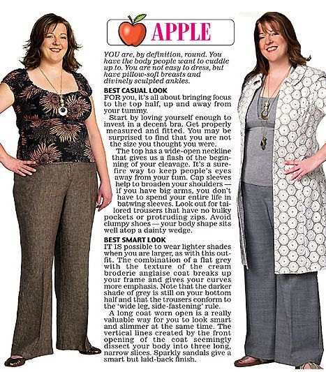 Pictures of dresses for apple shaped women