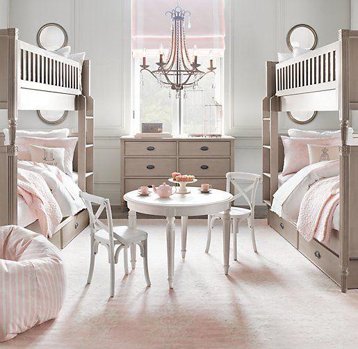 I love this little girl room Kinderzimmer Ideen Pinterest - schlafzimmer einrichten rosa