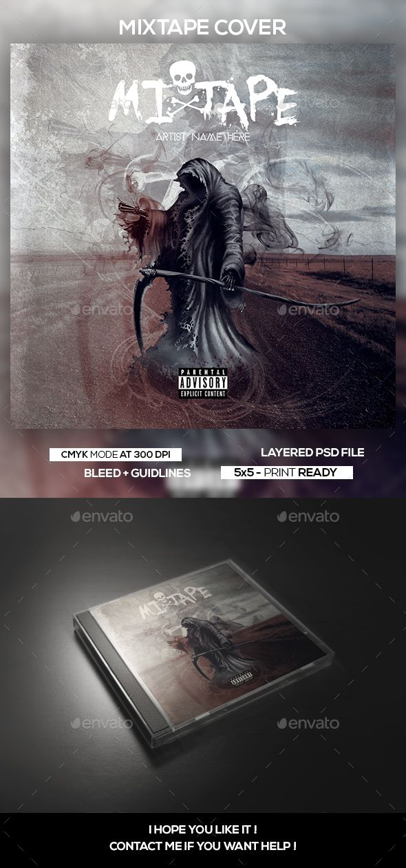 mixtape album cd artwork cover template cd dvd cover templates
