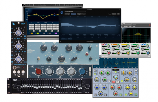 Various Hardware & Software EQs.