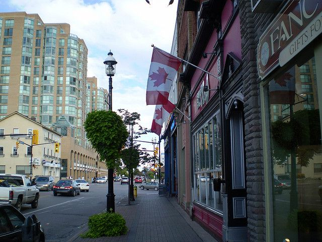 Downtown Barrie Ontario