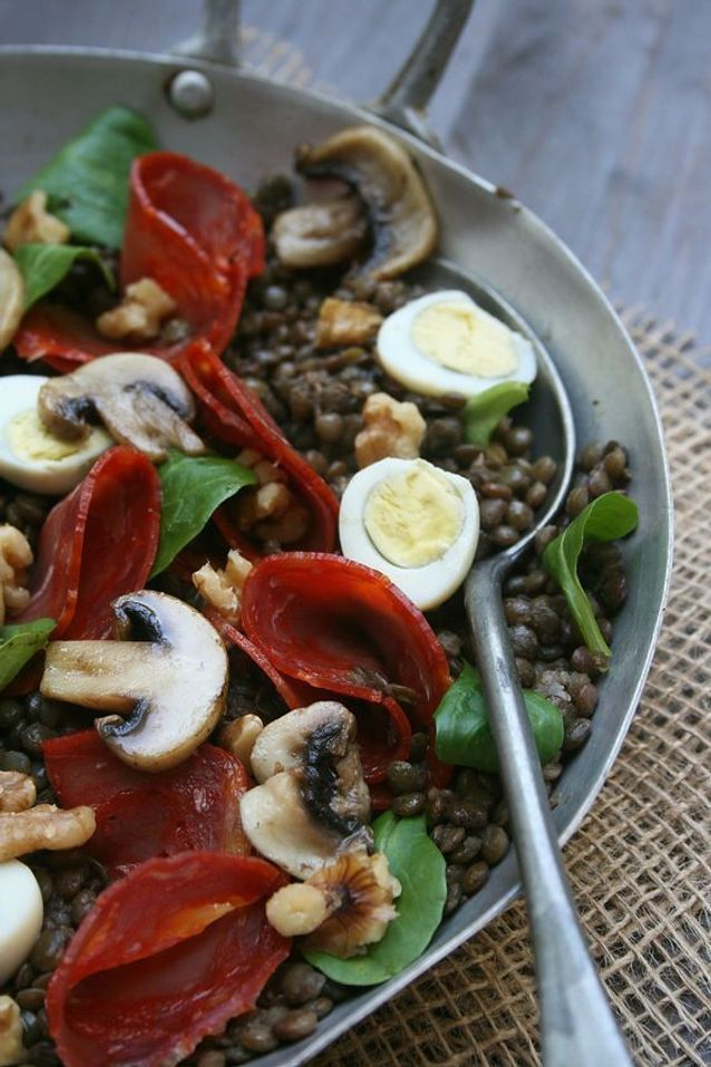 Salade d'automne originale - Ces salades d'automne à manger toute la semaine - Elle à Table #saladeautomne