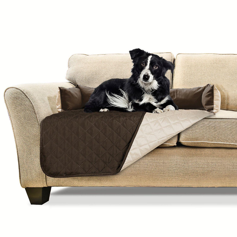 Superb Furhaven Sofa Buddy Furniture Cover Dog Bed Espresso 30 L Creativecarmelina Interior Chair Design Creativecarmelinacom