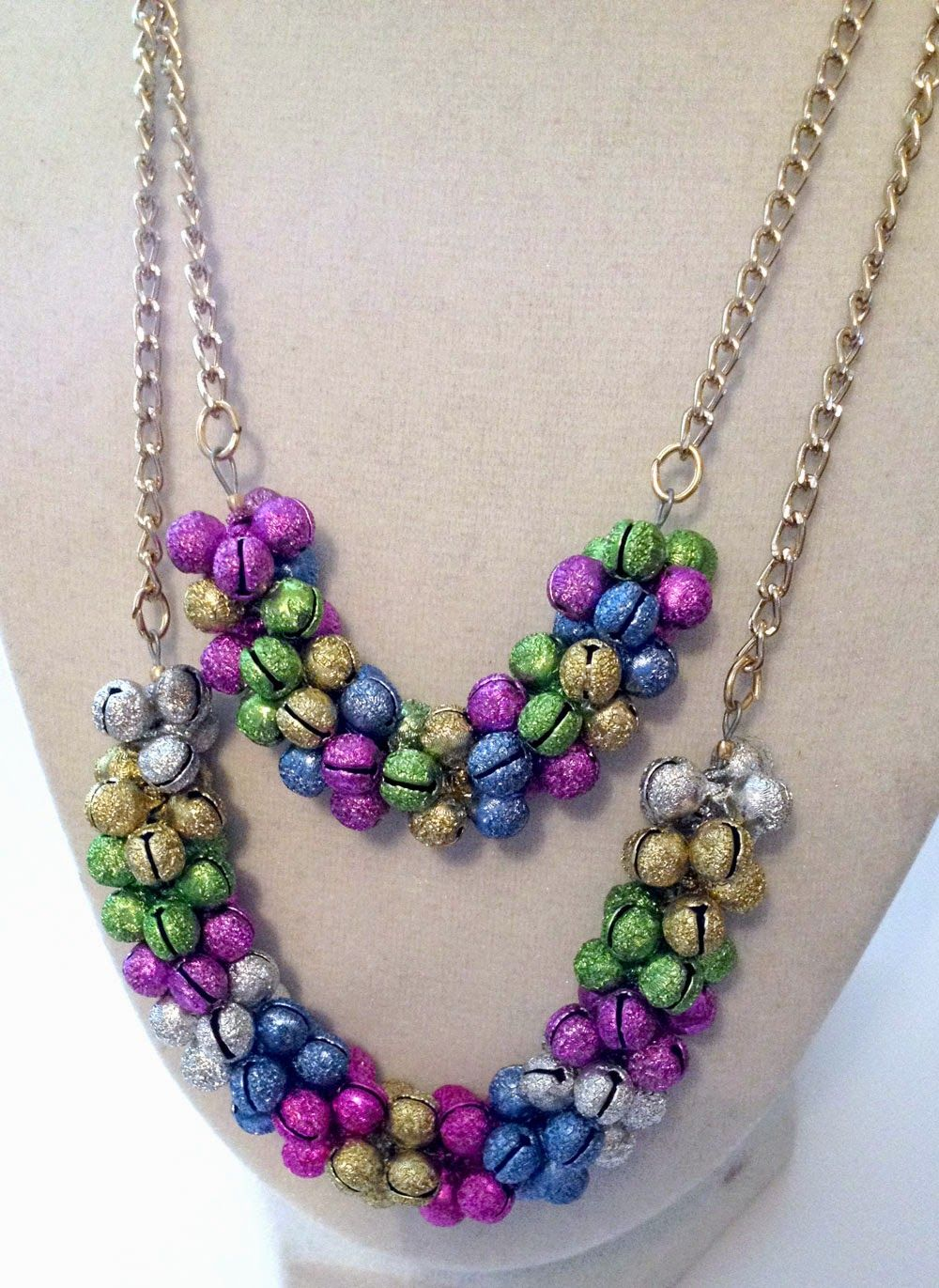 Tutorial Tuesday Jingle Bell Necklace (With images