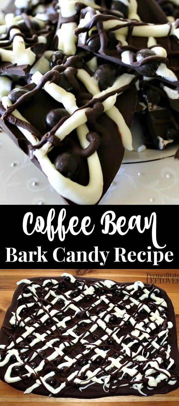 Coffee Bean Bark Recipe