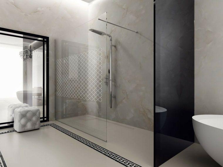 salle de bain moderne douche italienne. beautiful photo salle ... - Photo Salle De Bain Avec Douche Italienne