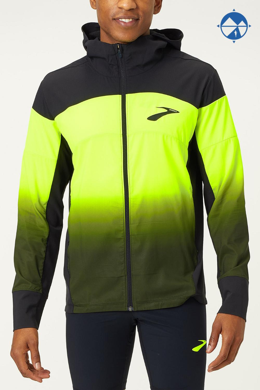 Brooks Men's Elite Canopy Jacket Running jacket, Jackets