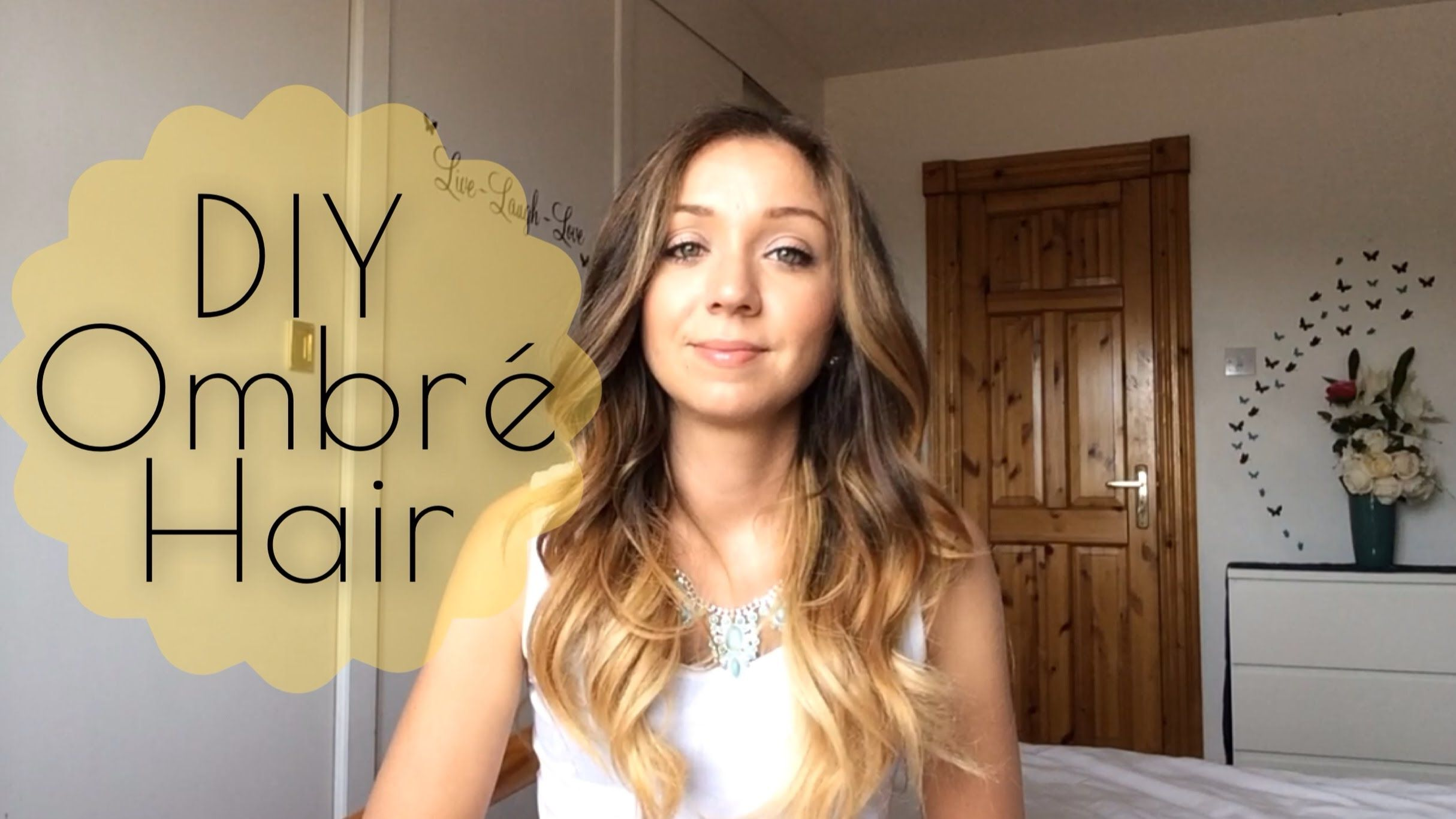 Diy how to ombr hair at home she even talks about what she did diy how to ombr hair at home she even talks about what she did wrong and how she fixed it solutioingenieria Images