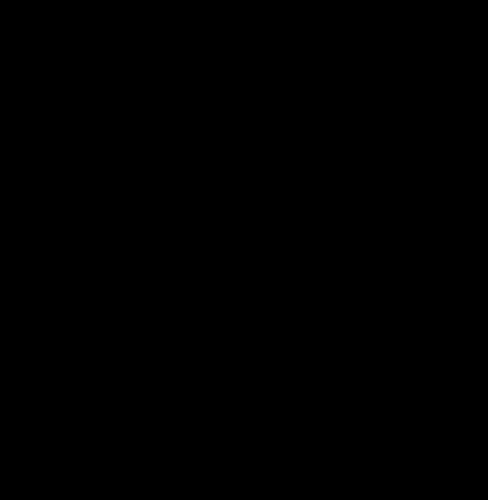 Женский силуэт на прозрачном фоне