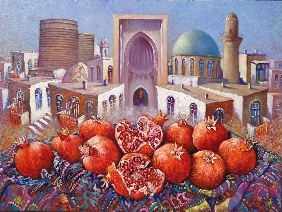 Pin By Rahima Azizi On Sərq Pomegranate Art Mosaic Art Vine Drawing