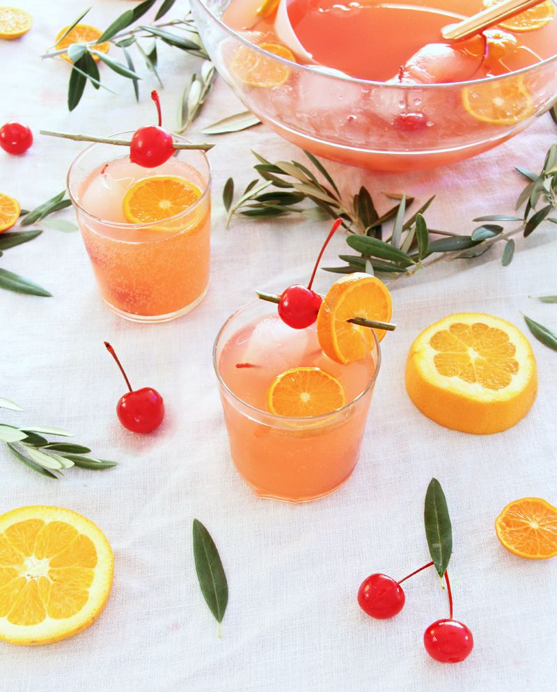 Holiday Cherry 7UP® Punch Recipe