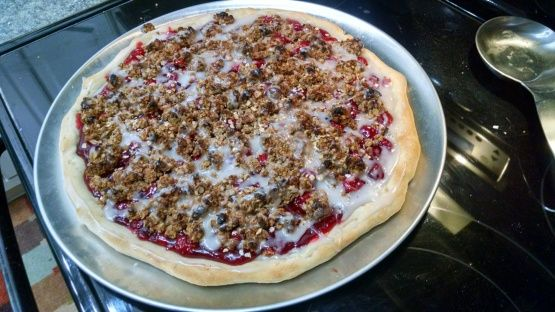 Make and share this Pizza Hut Dessert Pizza recipe from Food.com.