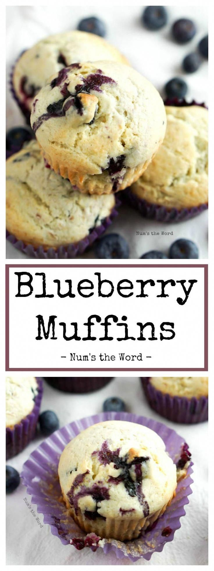 These easy blueberry muffins are quick and delicious. Not overly sweet and perfect for breakfast on the go or a snack. Kid friendly and fresh fruit approved!