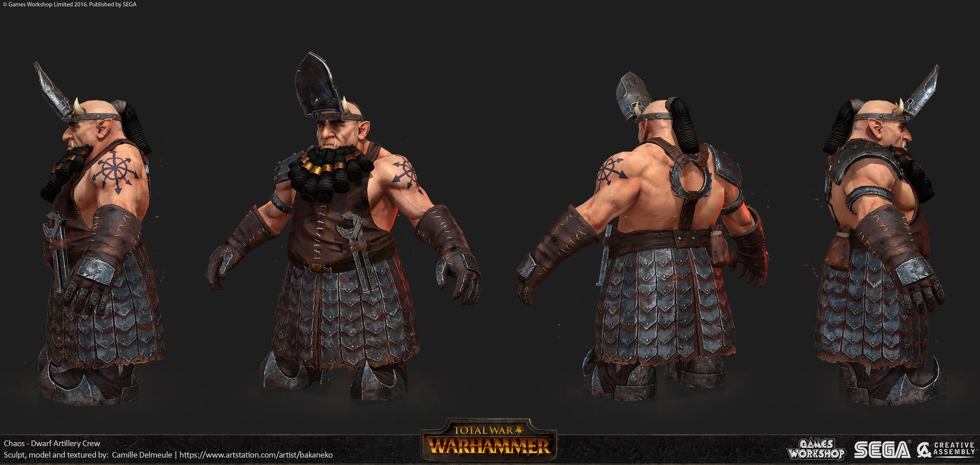 Warhammer 2 Chaos Dwarfs +
