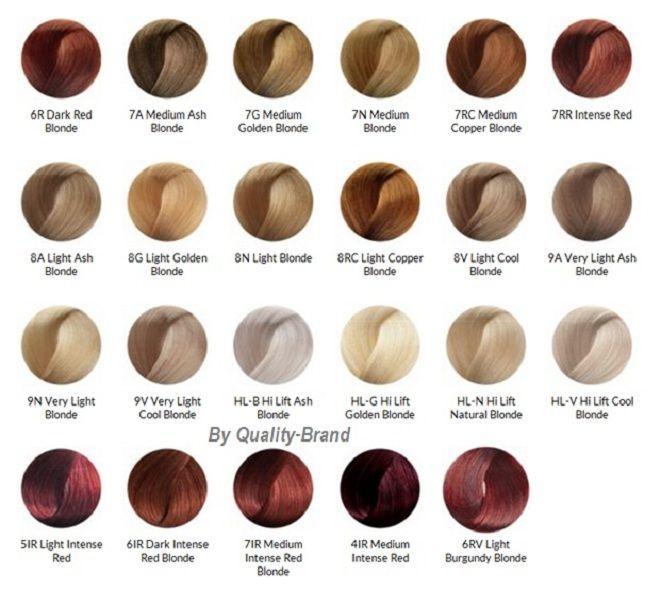 ion color brilliance color chart - Google Search | Hair color ...