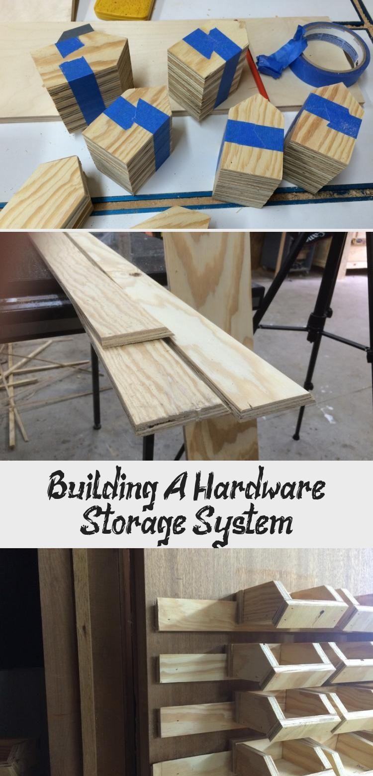 No Matter What Sort Of Shop You Have You Are Going To Have Hardware To Store I M A Woodworking Shop So Most Of Th In 2020 Hardware Storage Woodworking Storage System