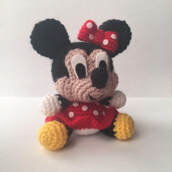 Minnie Mouse Amigurumi - Free Pattern (Beautiful Skills - Crochet ...   570x570