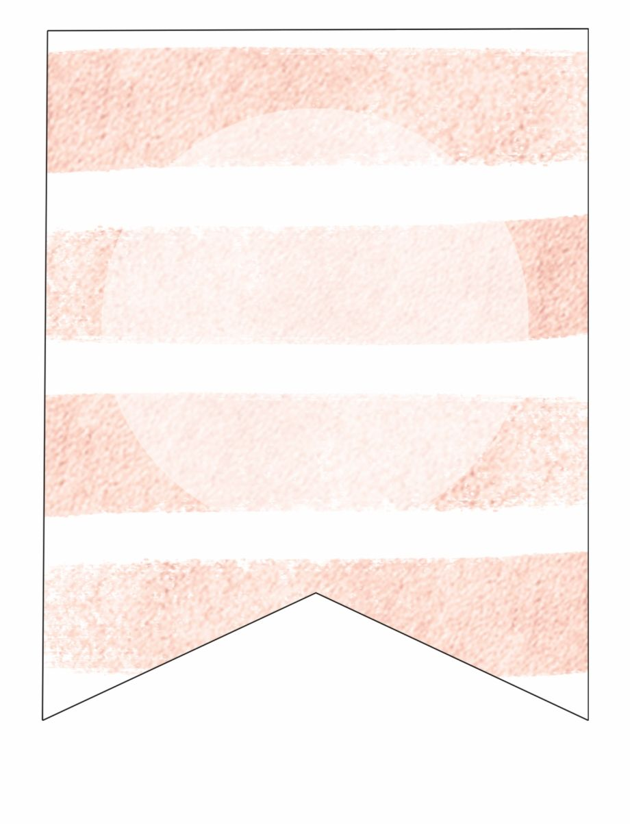 Pink Stripes Blank Banner Template Shadow Transparent Png With Free Blank Banner Templates Cu Banner Template Place Card Template Free Place Card Template