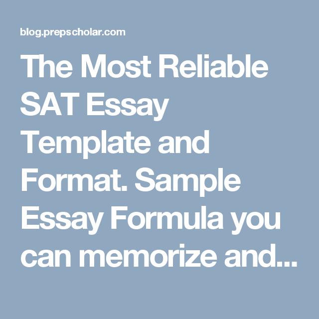 essay formula