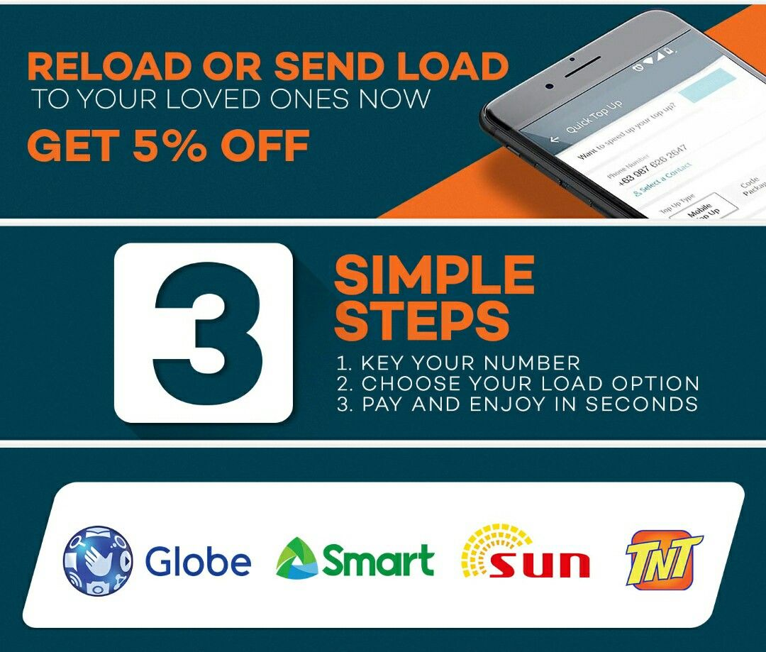 you can now load your phone in seconds use your visa or
