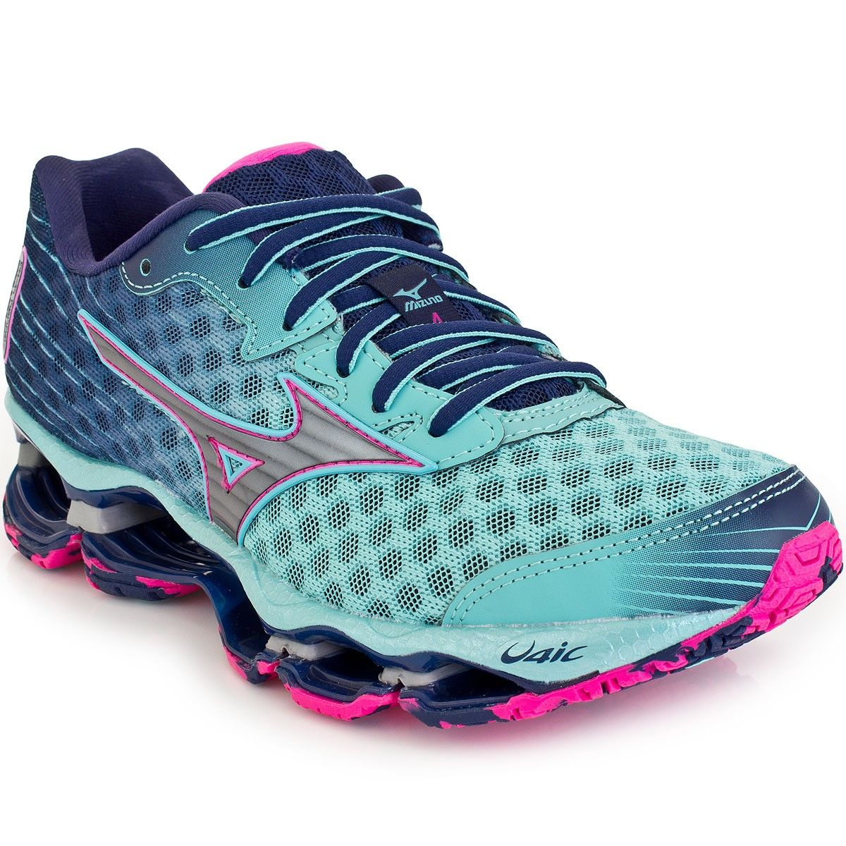 5cd5387d2dc36 Tênis Mizuno Wave Prophecy 4 feminino   Sapato   Sports footwear ...
