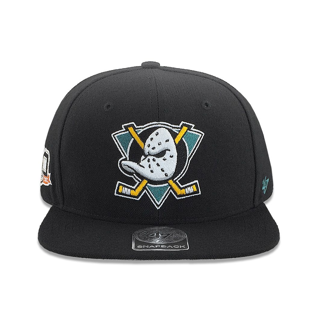 finest selection 71ae1 25700 Show your Mighty Ducks love is a sure thing with this adjustable Sure Shot  Snapback Cap Hat by 47 Brand from our 100% Australian store.