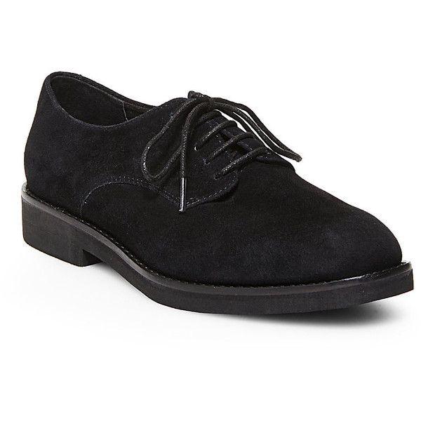 Waitress shoes, Black oxford shoes