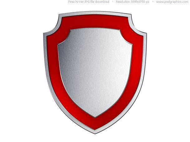 Silver Shield Red Shield Shield Template Shield