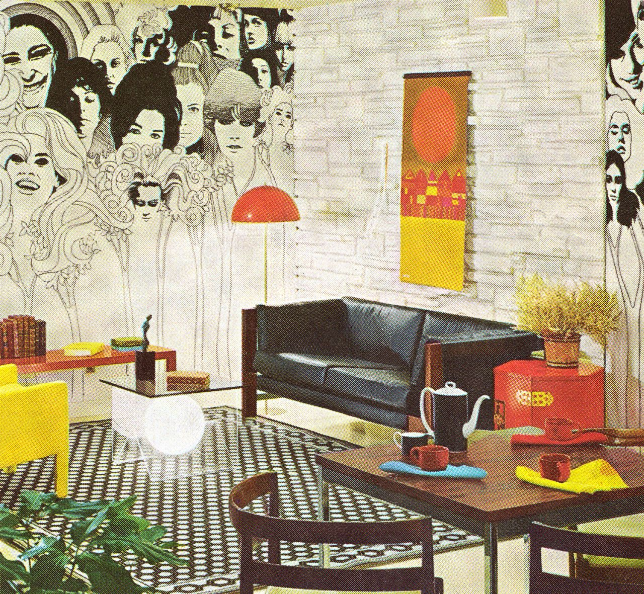 Interior Design By Retro Interiors: Pin By Circa 78 Designs On 70s Design + Interior Decor